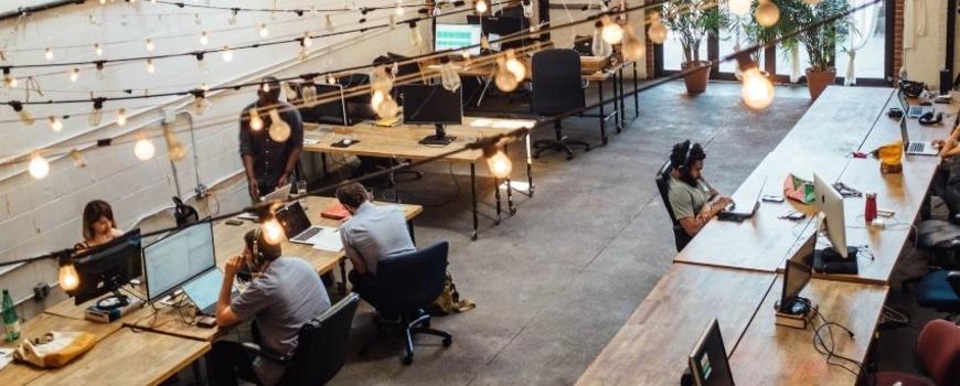 Start-up : nouvelle ambiance de travail